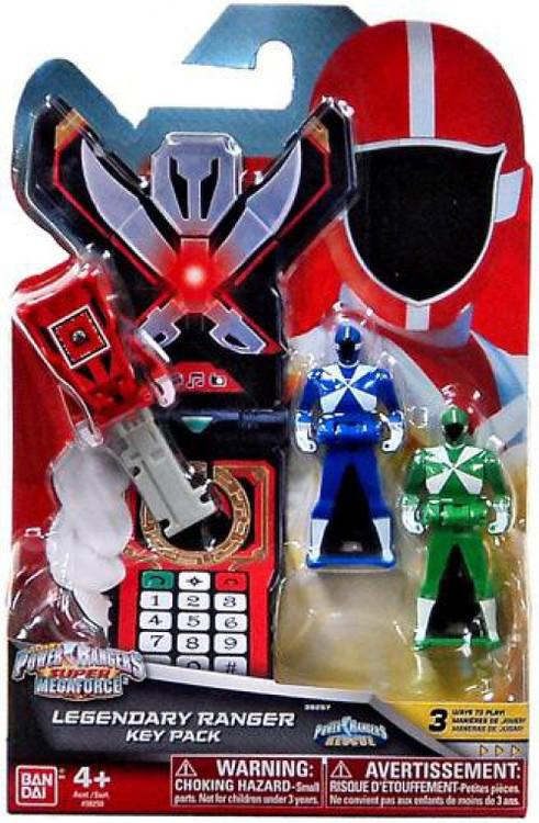 Bandai Power Rangers Super Megaforce Legendary Ranger Key...