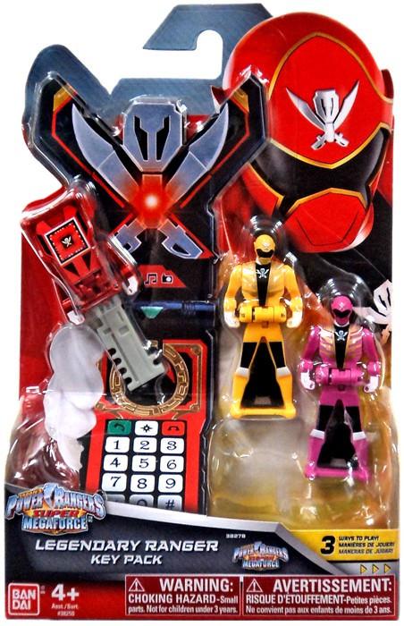 Power Rangers Super Megaforce Legendary Ranger Key Pack R...