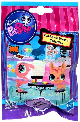 Hasbro Littlest Pet Shop Candyswirl Dreams Collection Mys...