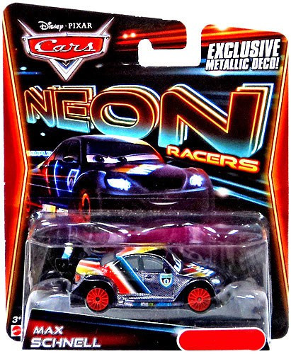 Disney Cars Neon Racers Max Schnell Exclusive 155 Diecast