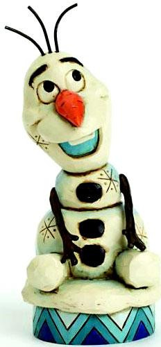 Disney Frozen Traditions Olaf Statue