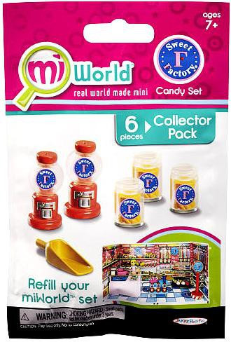 MiWorld Sweet Factory Candy Set Collector Pack [Gumbal Ma...