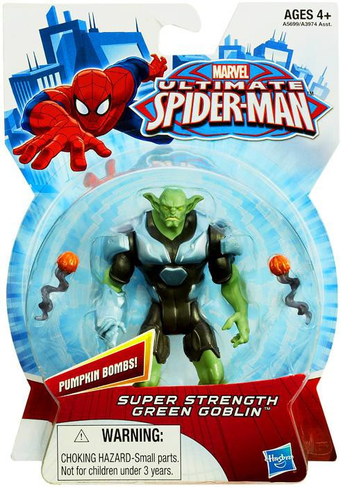 Hasbro Ultimate Spider-Man Super Strength Green Goblin Ac...