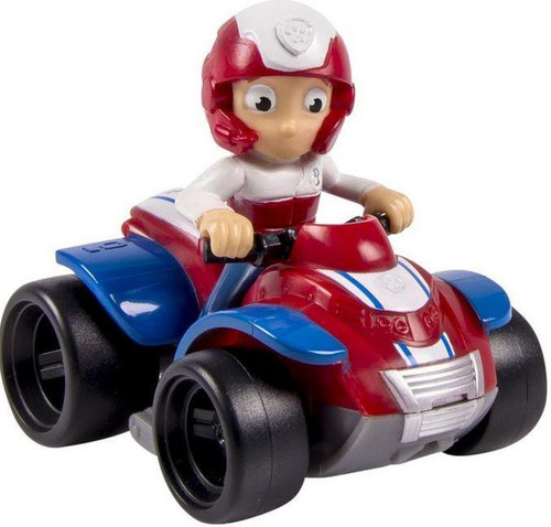 Spin Master Paw Patrol Rescue Racer Ryder in ATV Figure [...