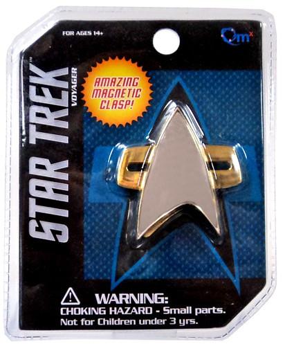 Quantum Mechanix Star Trek Voyager Communicator Badge Pro...