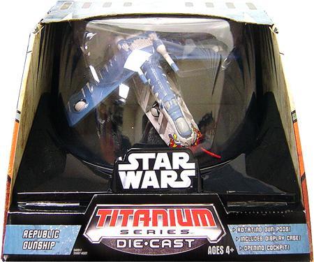 Hasbro Star Wars The Clone Wars Titanium Series Ultra Veh...