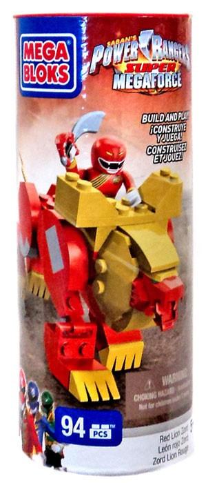 Power Rangers Megaforce Mega Bloks Set 5662 Red Lion Zord ...