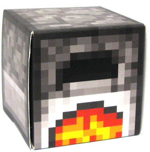 Minecraft lit furnace papercraft single piece jazwares for How to craft a furnace in minecraft