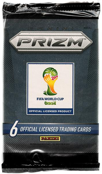PANINI FIFA World Cup 2014 Brazil Prizm Trading Card Pack