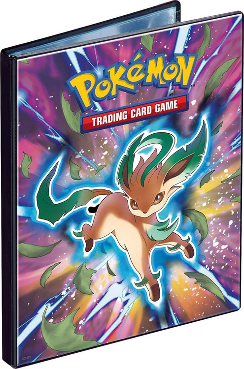 Ultra Pro Pokemon Card Supplies Leafeon 4-Pocket Binder