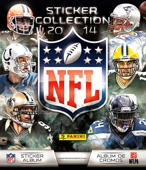 PANINI NFL Sticker Collection 2014 Sticker Album