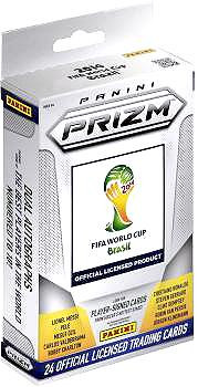 PANINI 2014 Brazil FIFA World Cup Prizm Trading Card Hanger