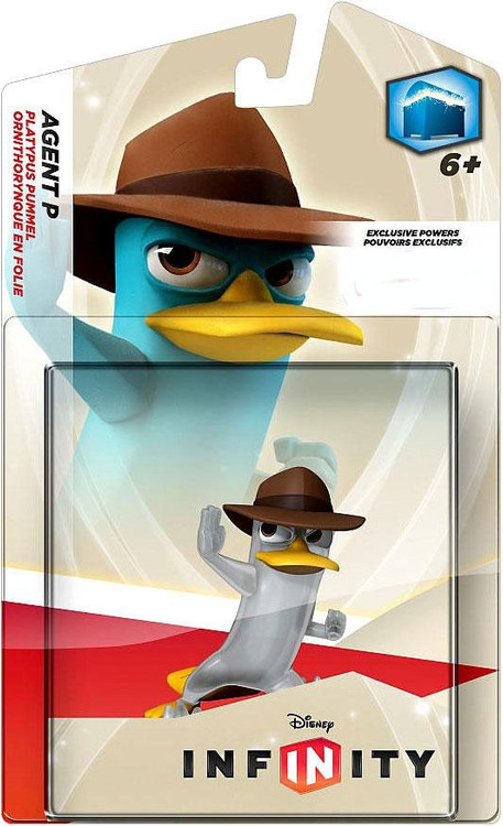 Phineas and Ferb Disney Infinity Agent P Exclusive Game F...