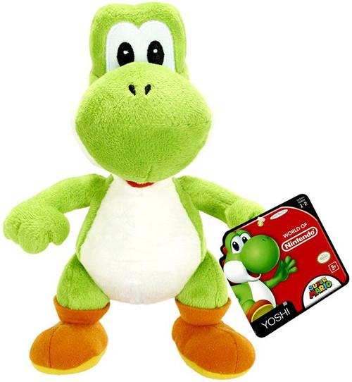 Super Mario World of Nintendo Green Yoshi 7-Inch Plush