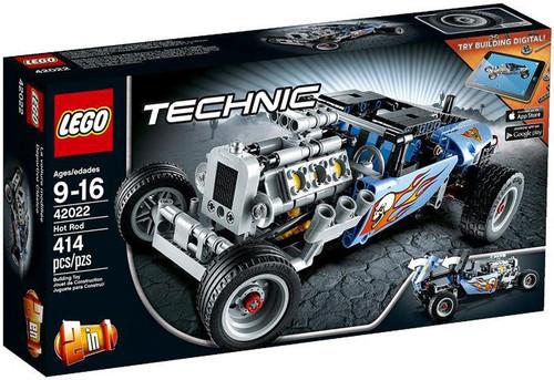Lego Technic Hot Rod Building Set #42022
