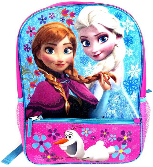 Disney Frozen Anna, Elsa & Olaf Flowers Backpack [With Pe...