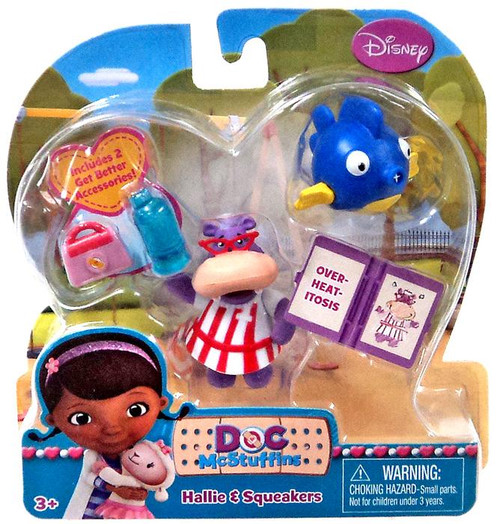 Just Play Disney Doc McStuffins Hallie & Squeakers Action...