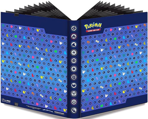 Ultra Pro Pokemon Card Supplies Silhouettes 9-Pocket Binder