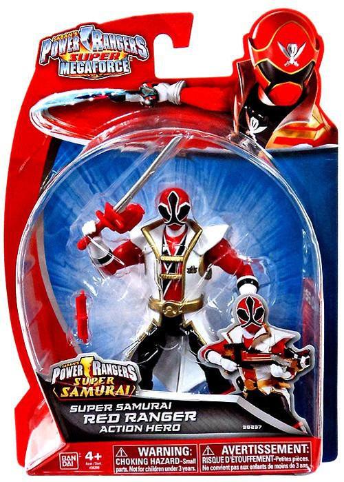 power rangers super megaforce super samurai red ranger