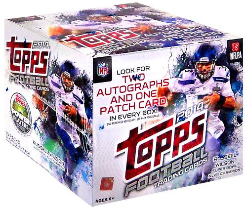 NFL 2014 Topps Football Cards Trading Card Jumbo Box ToyWiz