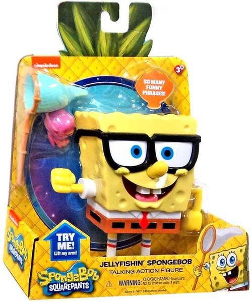 Spongebob squarepants jellyfishin spongebob talking action for Talking fish toy