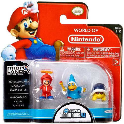 World of Nintendo Super Mario Bros U Micro Land Series 2 ...