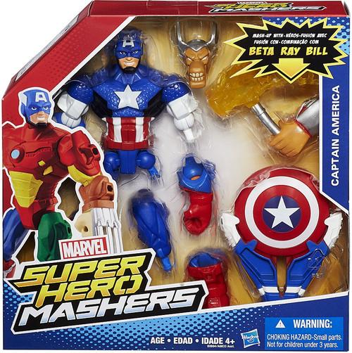 marvel super hero mashers battle upgrade captain america action figure hasbro toys toywiz. Black Bedroom Furniture Sets. Home Design Ideas