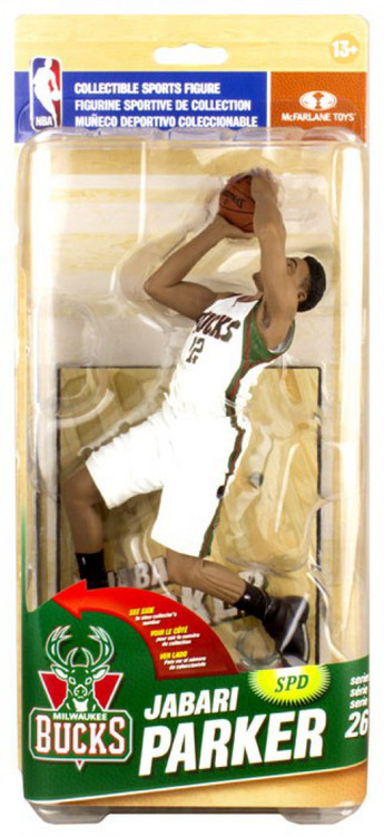 McFarlane Toys NBA Milwaukee Bucks Sports Picks Series 26 Jabari Parker Action Figure - ToyWiz