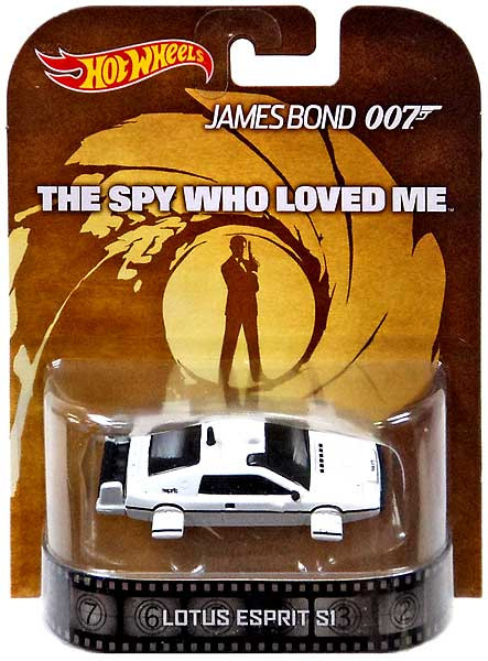 Hot Wheels James Bond Retro Lotus Esprit S1 Die-Cast Car ...