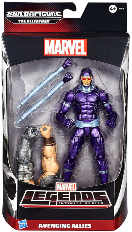 Hasbro Marvel Legends Avengers Allfather Series Machine M...