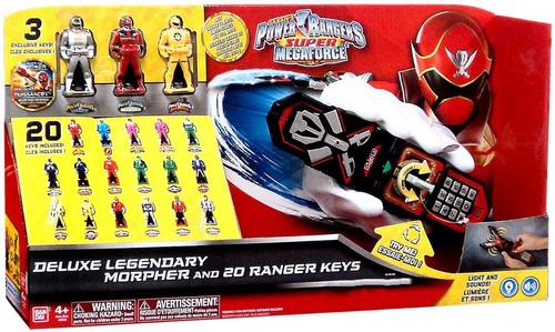 Bandai Power Rangers Super Megaforce Deluxe Legendary Mor...