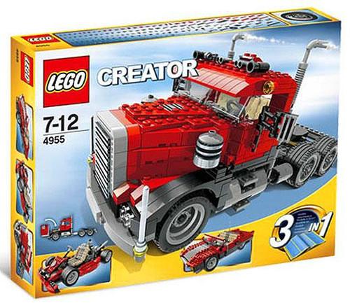 Lego Creator Big Rig Set #4955 [Damaged Package]