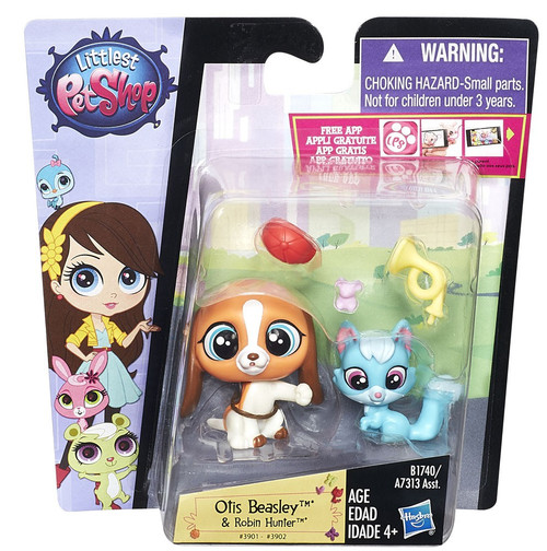 Hasbro Littlest Pet Shop Pet Pawsabilities Otis Beasley &...