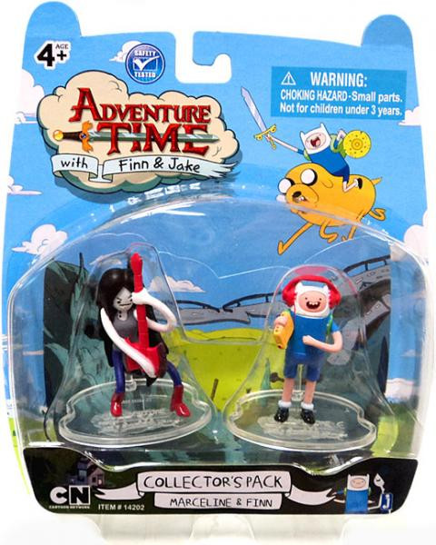Adventure Time Collectors Pack Marceline Finn 2 Mini ...