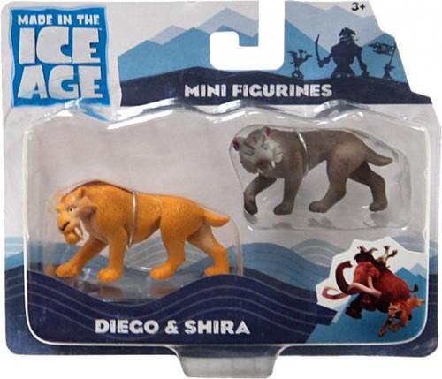 Ice Age Continental Drift Diego Shira Mini Figure 2-Pack ...  Ice Age Contine...