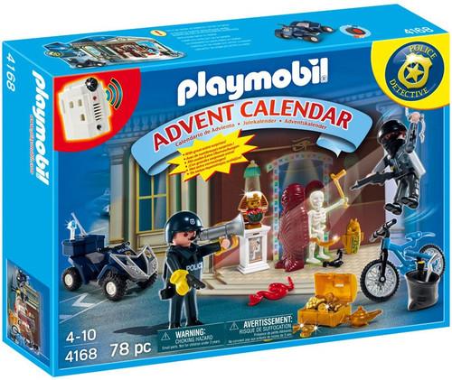 Playmobil Advent Calendar Christmas Police Set #4168