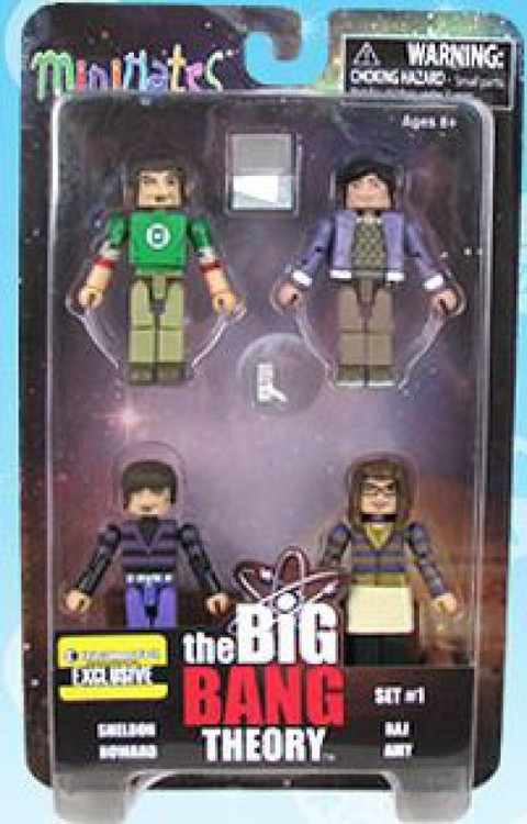 The Big Bang Theory Minimates Exclusive Minifigure 4-Pack...