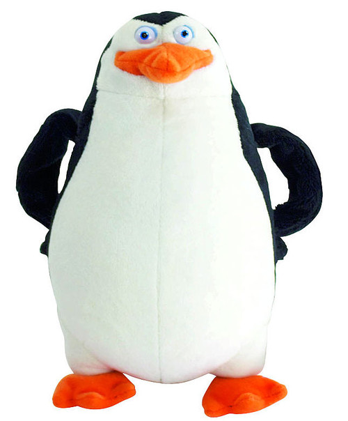 The Penguins of Madagascar Skipper 6-Inch Talking Plush