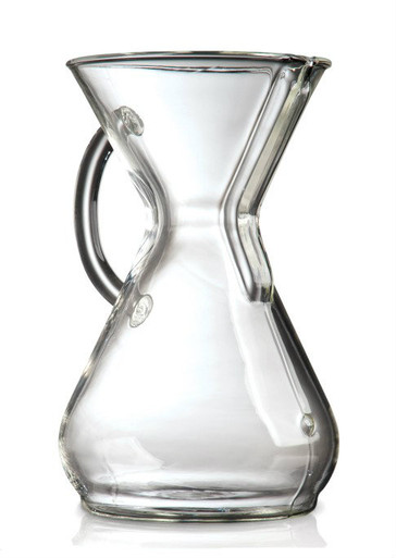 8Cup Chemex with Glass Handle