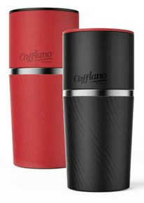 Cafflano Klassic Red or Black