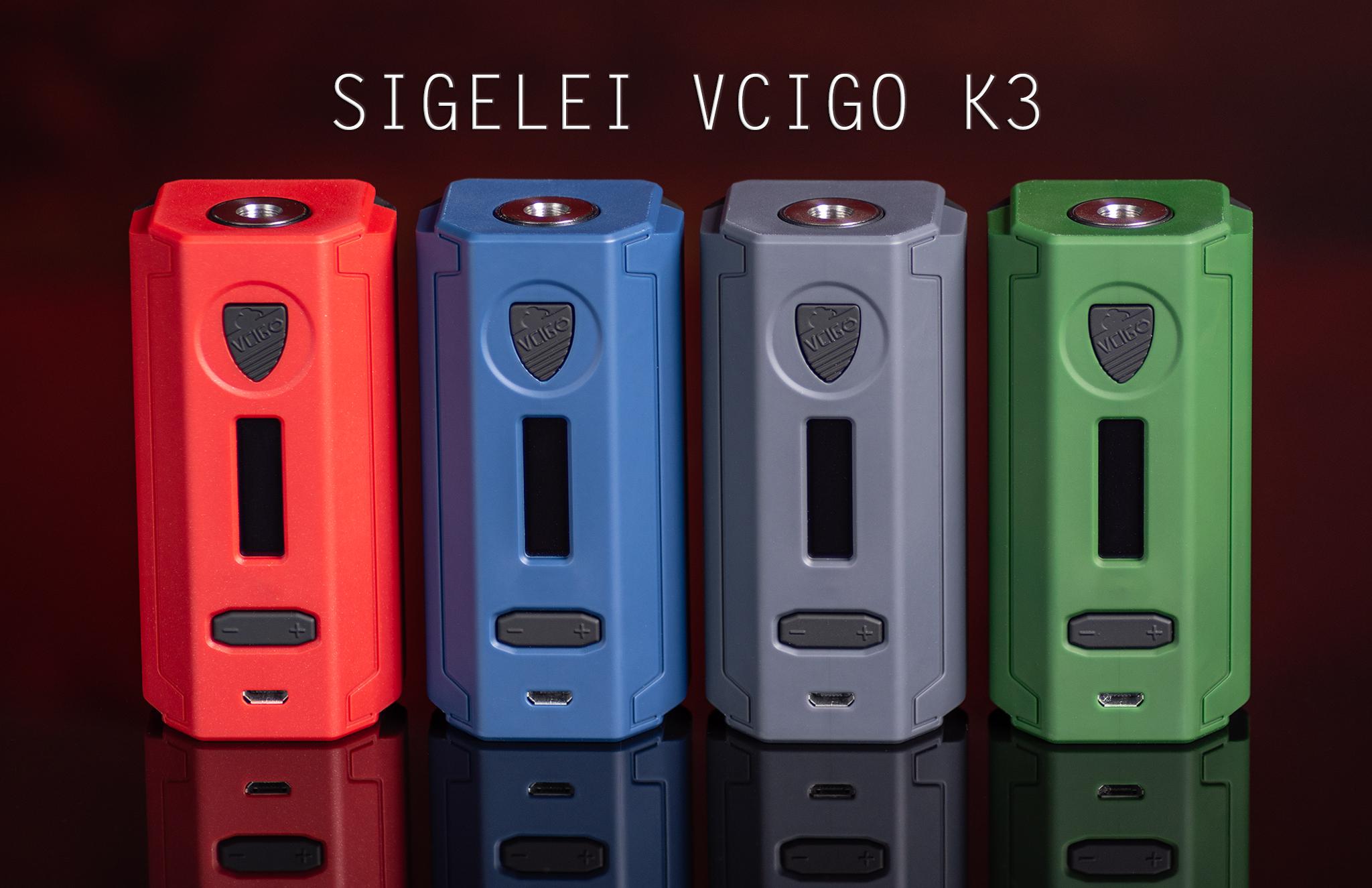 Αποτέλεσμα εικόνας για Box Vcigo K3 150W TC - Sigelei