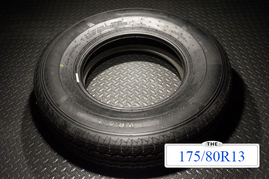 14 Inch 6 ply Radial Trailer Tire - ST 175/80R13 - Load Range C