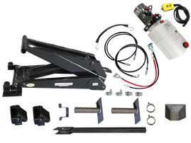 Dump Trailer Hydraulic Scissor Hoist / Lift Kit - 24000 lb - PH625