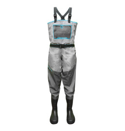 Gator Wader-Women's Swamp Series Breathable Uninsulated Waders - (Blue)
