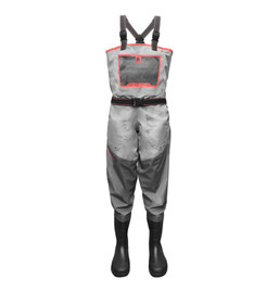 Gator Wader-Men's Swamp Series Breathable Uninsulated Waders - (Coral)