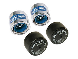 "Set of 2) Bearing Buddy Protectors - 2.441"" with Covers - (For 5.2K & 6K Axles)"