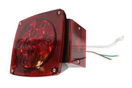 LED Combination Tail Lights -RH - Red