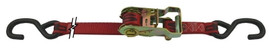 Snappin Turtle 9' Ratchet Strap Assembly W/Coated S-Hooks - (2500 Lb Capacity)
