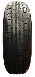 Contender 14 Inch 6 ply Radial Trailer Tire - ST 205/75R14 - Load Range C
