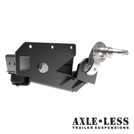 """Timbren Axle-Less Trailer Suspension With 4"""" Drop Spindle - (3,500HD)"""